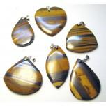 Jasper Gemstone Pendant with Bail - Style 1