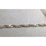 Chain Sterling Silver - 5pc Pack - 16 inch Singapore