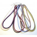 3 mm x 16 Inch Cord w/Extension 10 piece pack  - Assorted Colors