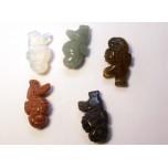 Seahorse 1 Inch Figurine - Assorted Stones