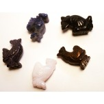Rooster 1 Inch Figurine - Assorted Stones
