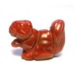 Squirrel 1 Inch Figurine - Rainbow Jasper