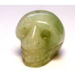 Skull 1 Inch Figurine - Aventurine