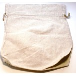 Gusseted Cloth Pouch 12 inches x 12 inches - 10 piece pack - Brown