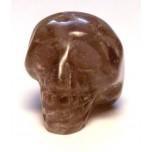 Skull 1 Inch Figurine - Amethyst
