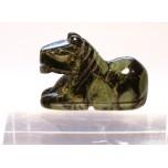 Horse Sitting 1 Inch Figurine - Kambaba