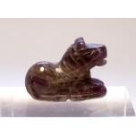 Horse Sitting 1 Inch Figurine - Amethyst
