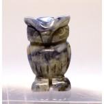 Owl 1 Inch Figurine - Sodalite