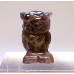 Owl 1 Inch Figurine - Amethyst