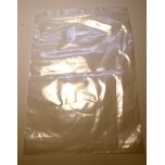 Clear Plastic Display Zip Bags 7 Inch X 9.5 Inch 100 piece pack