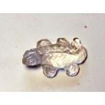 Lizard 1 Inch Figurine - Clear Quartz