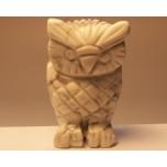 Owl 1.5 Inch Figurine - White Howlite