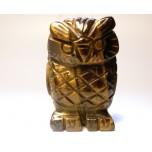 Owl 1.5 Inch Figurine - Tiger Eye