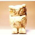 Owl 2.25 Inch Figurine - White Howlite