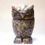 Owl 2.25 Inch Figurine - Sodalite