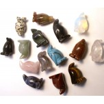 Penguin 1 Inch Figurine - Assorted Stones
