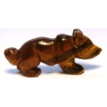 Fox 2.25 Inch Figurine - Tiger Eye