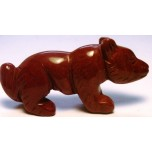 Fox 2.25 Inch Figurine - Rainbow Jasper