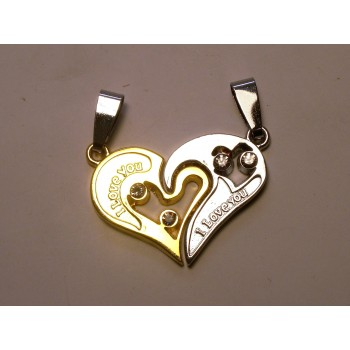BFF Charms - Set of 2 - Heart