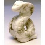 Snake (Cobra) 1.5 Inch Figurine - Howlite