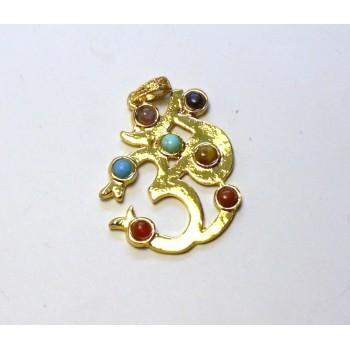 Chakra Pendant Style 1 - Gold