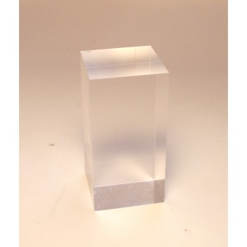 4cm x 4cm x 8cm Crystal Display/Stand