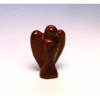 Angel Carved Fetish Bead 0.75 Inch - Rainbow Jasper
