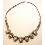Ceramic Necklace on a Cord Style 3