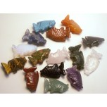Fish Classic 1 Inch Figurine - Assorted Stones