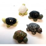 Turtle (Two Tone) 1.5 Inch Figurine - Assorted Stones