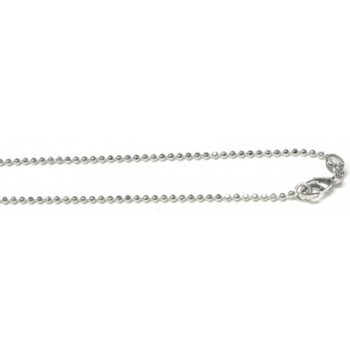 16 Inch 1.5mm Ball Chain 10piece pack