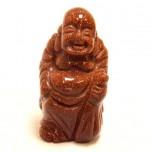 Buddha Standing 2.25 Inch Figurine - Goldstone