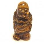 Buddha Standing 2.25 Inch Figurine - Tiger Eye