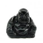 Buddha Classic 2.25 Inch Figurine - Obsidian Black