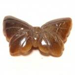 Butterfly 2.25 Inch Figurine - Tiger Eye