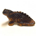 Chameleon 2.25 Inch Figurine - Tiger Eye