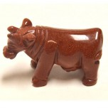 Cow 2.25 Inch Figurine - Goldstone