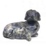 Dog (Dachshund) 2.25 Inch Figurine - Sodalite