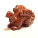 Dinosaur (Stegosaurus) 2.25 Inch Figurine - Goldstone