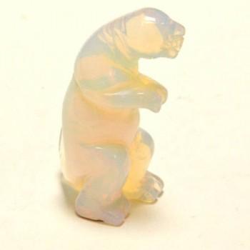 Dinosaur (T-Rex) 2.25 Inch Figurine - Opalite
