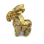 Donkey 2.25 Inch Figurine - Picture Jasper
