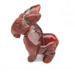 Donkey 2.25 Inch Figurine - Rainbow Jasper