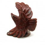 Eagle Soaring 2.25 Inch Figurine - Rainbow Jasper