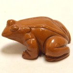Frog Classic 2.25 Inch Figurine - Brownstone