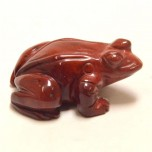 Frog Classic 2.25 Inch Figurine - Rainbow Jasper
