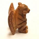 Gargoyle 2.25 Inch Figurine - Brownstone