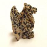 Gargoyle 2.25 Inch Figurine - Dalmatian Dacite