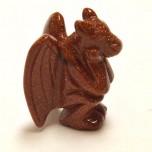 Gargoyle 2.25 Inch Figurine - Goldstone