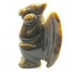 Gargoyle 2.25 Inch Figurine - Tiger Eye