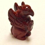 Griffin 2.25 Inch Figurine - Rainbow Jasper
